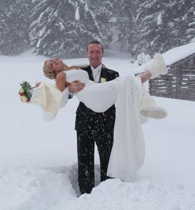 Как пойти на свадьбу зимой