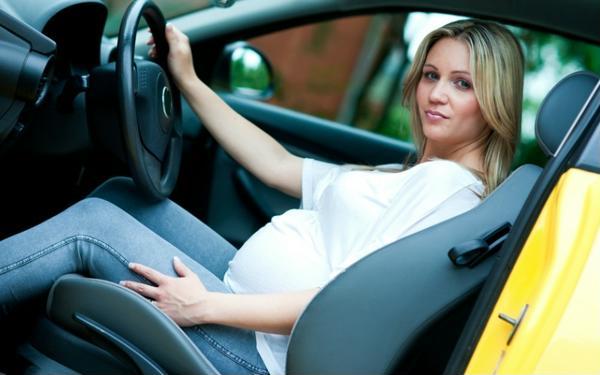 беременность вождение