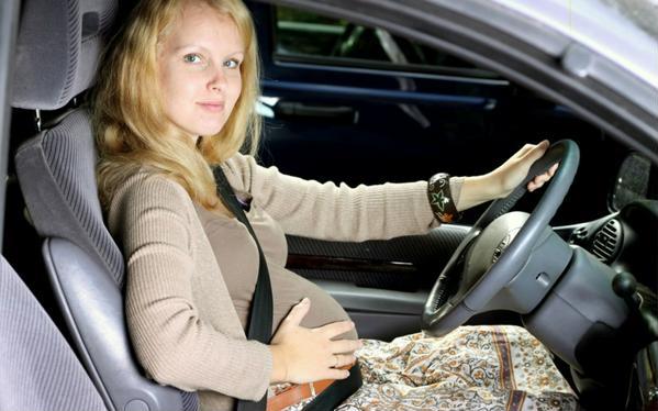 беременность при вождении