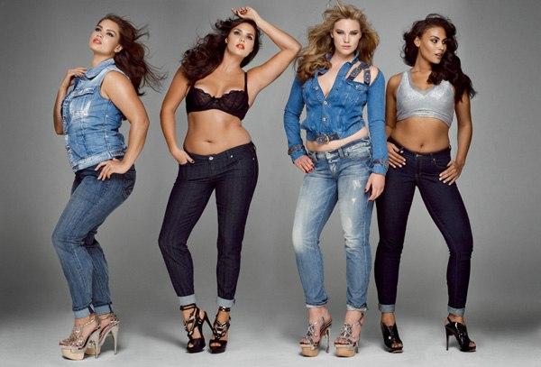 джинсы девушки