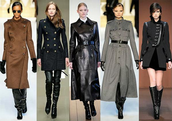 женское пальто или плащ осень-зима 2010-2011