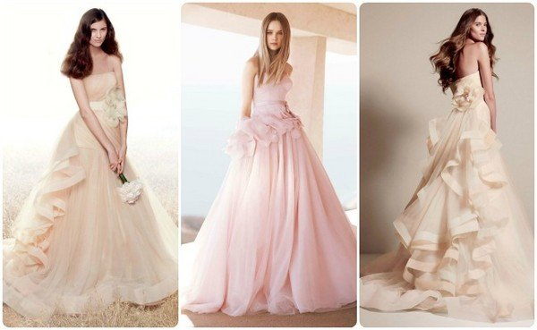 42f0f2eaa3c78b4 Цвет свадебного платья: какой выбрать?