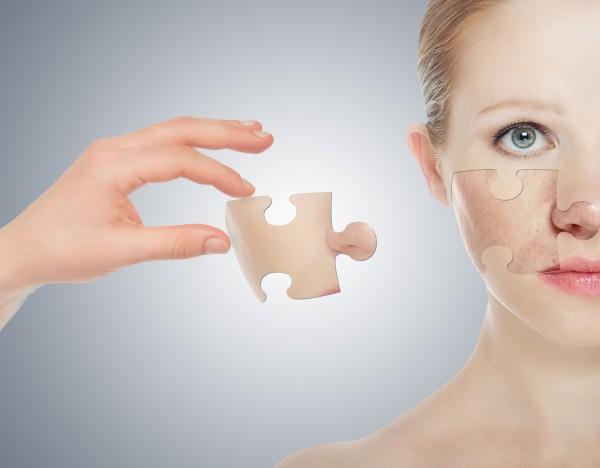 скрыть недостатки кожи