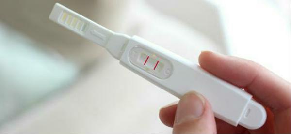 тест положительный фото на беременность