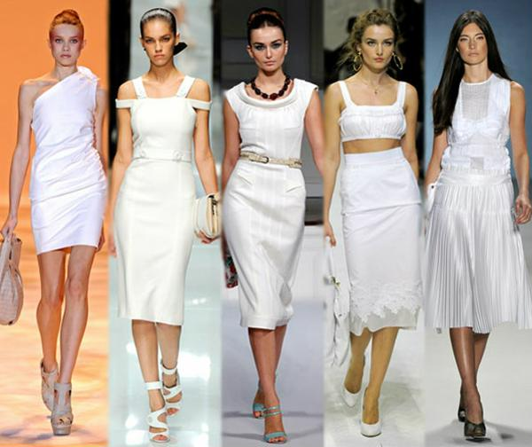белый в одежде
