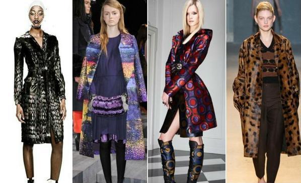 Модные плащи осень 2011