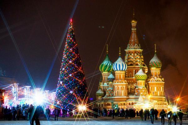 Новый 2012 год в Москве