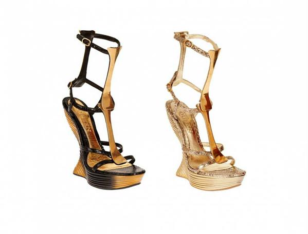 Модная обувь весна-лето 2012