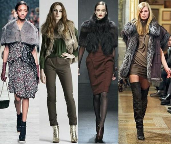 мода осень 2012