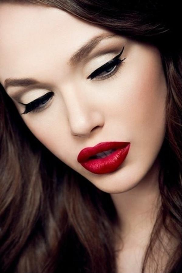 Модный макияж зима 2013