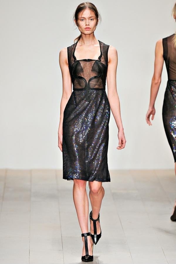 Модные платья на Новый год 2013