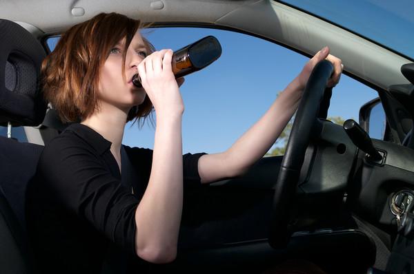 пить за рулем