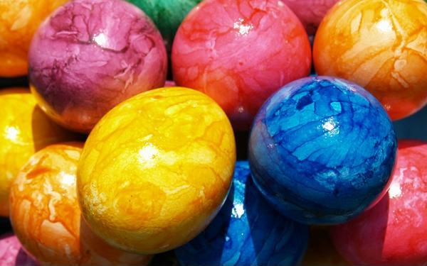 Идеи узоров для пасхальных яиц