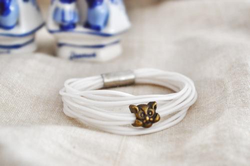 силиконовый браслет