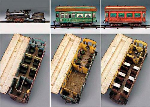 самый дорогой игрушечный поезд