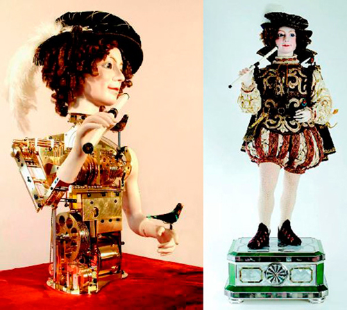 самая дорогая игрушка в мире механическая кукла «Птицелов»