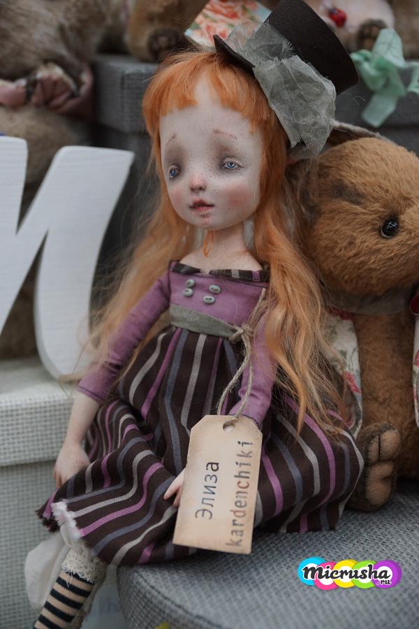 выставка кукол на Тишинке