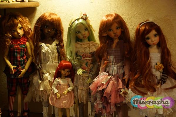 частная коллекция кукол