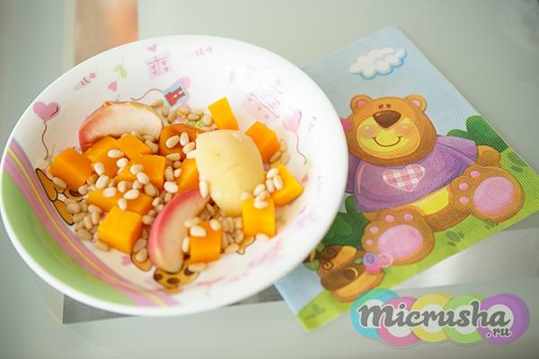 десерт из тыквы детям
