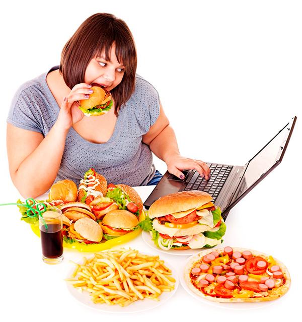 ожирение у девушек