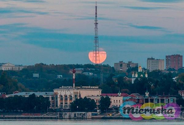Лунное затмение 28 сентября 2015