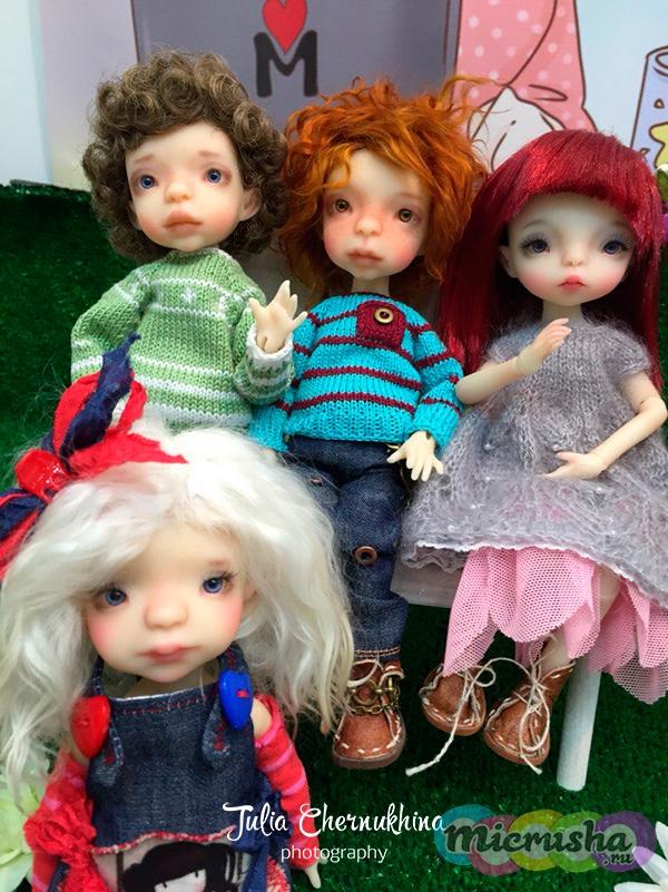 Куклы Наташи Бронетемкиной