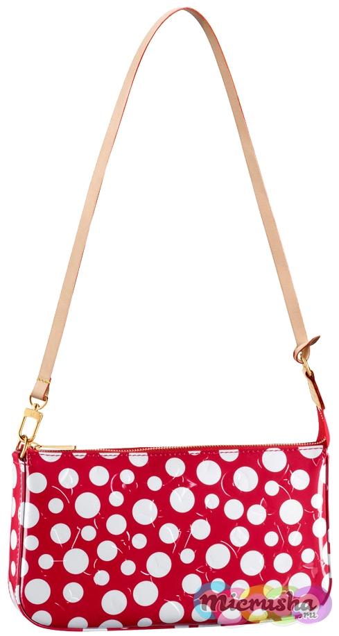 Dots Infinity Pochette Accessoires Rouge