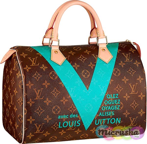 сумка Speedy 30 V Turquoise