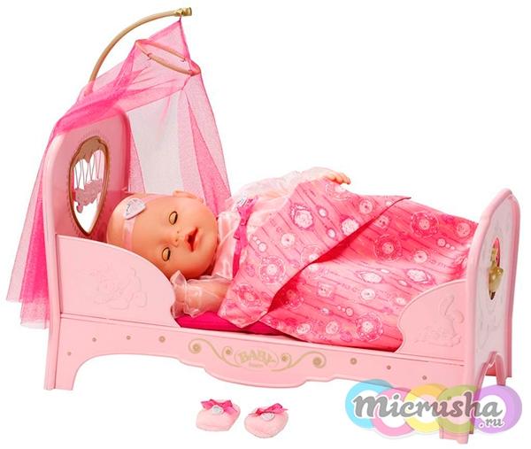 кроватка для Baby Born