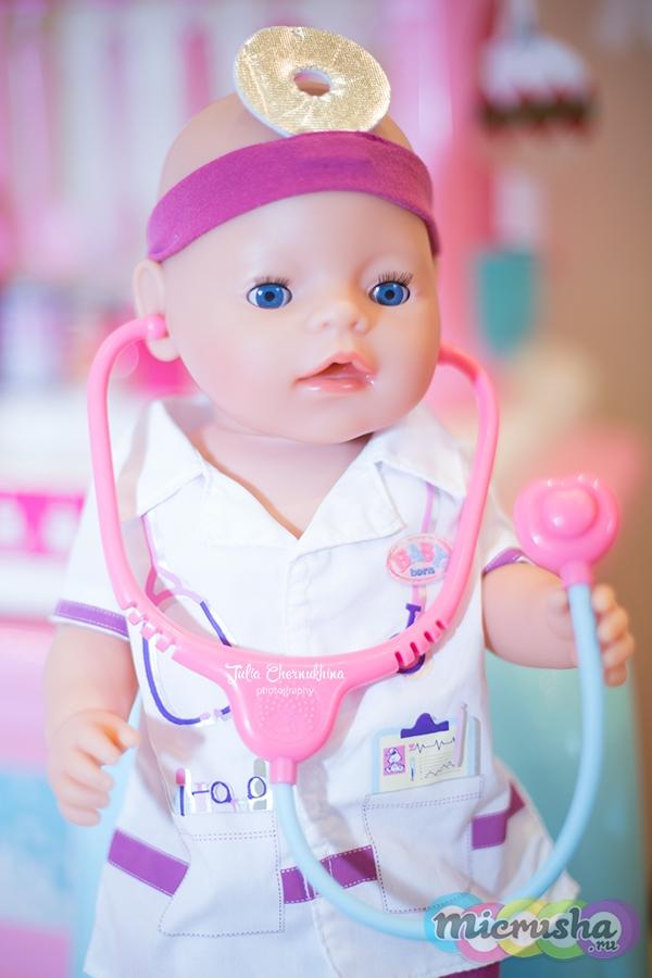 кукла Беби Борн врач