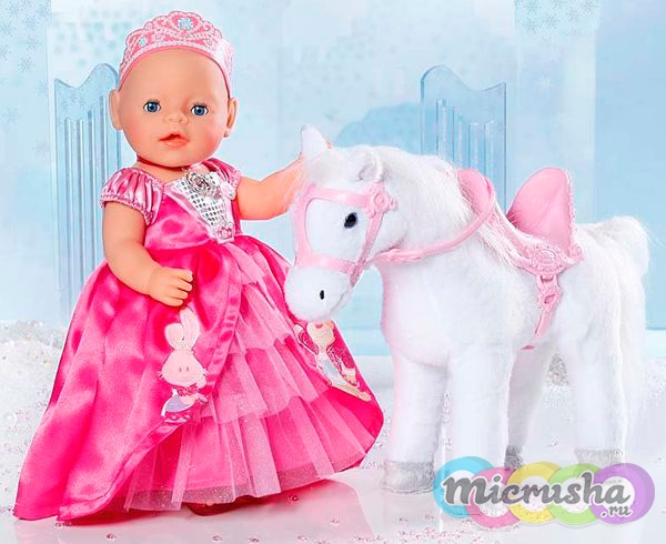 интерактивная лошадь для Baby Born