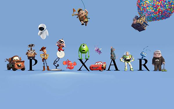 Мультики от Pixar