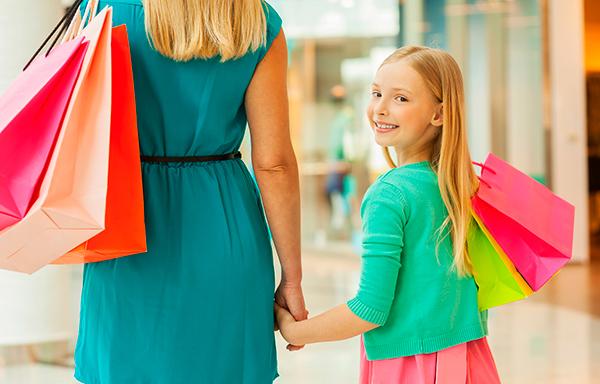 шоппинг для мамы