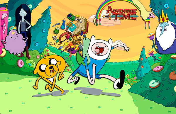 "Cartoon Network ""Время приключений"""