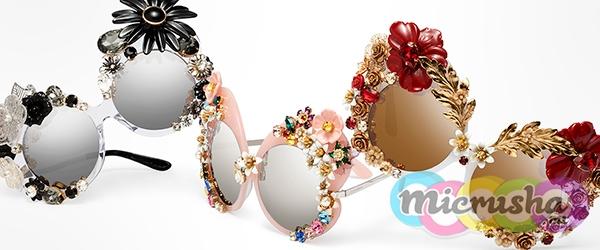 цветочные очки от Dolce&Gabbana