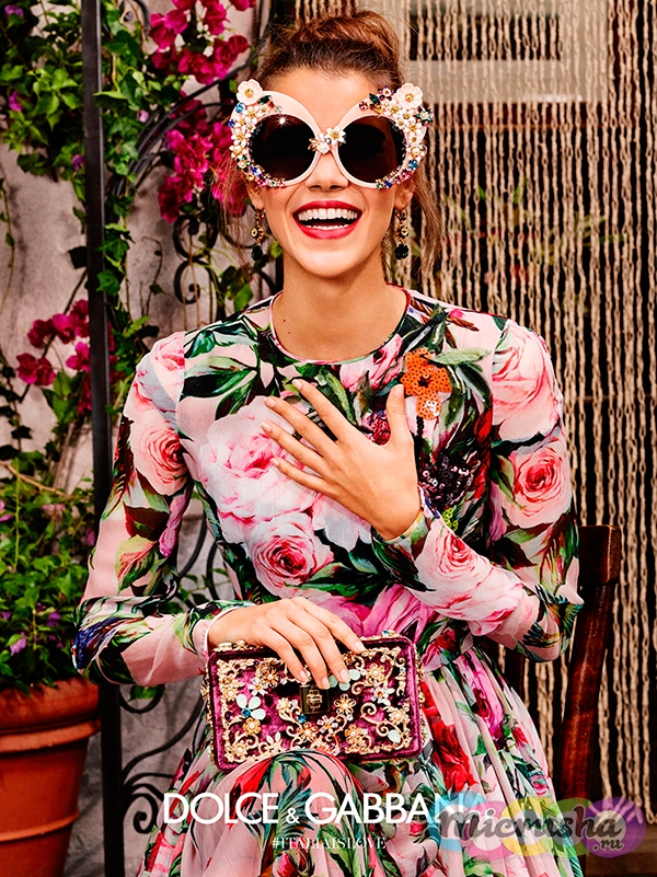 Коллекция Dolce&Gabbana Flowers Eyewear