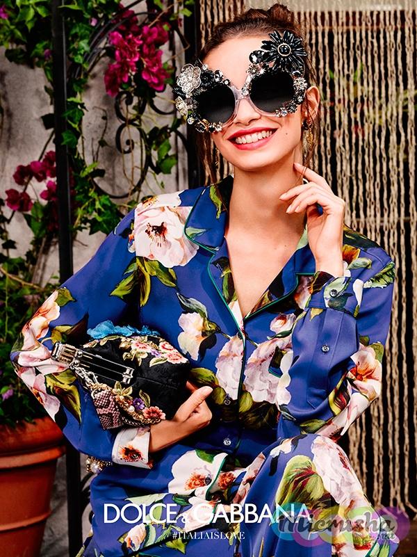 Dolce&Gabbana Flowers Eyewear лето