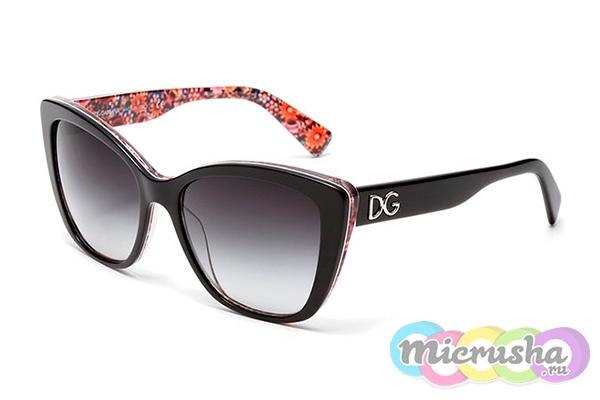 очки бабочки от DOLCE&GABBANA