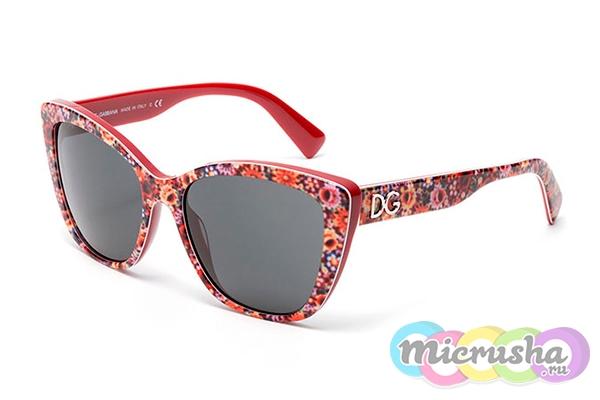 цветные очки от DOLCE&GABBANA