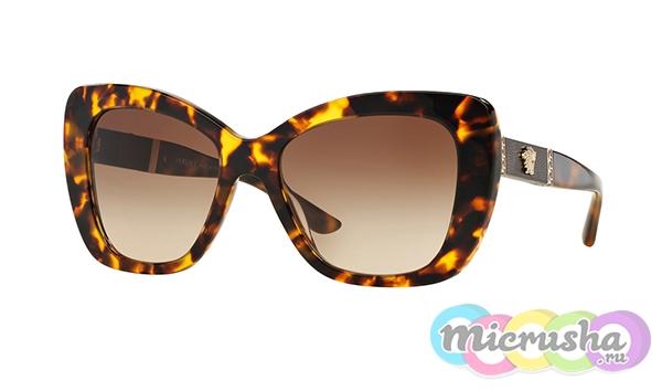 леопардовые очки Versace