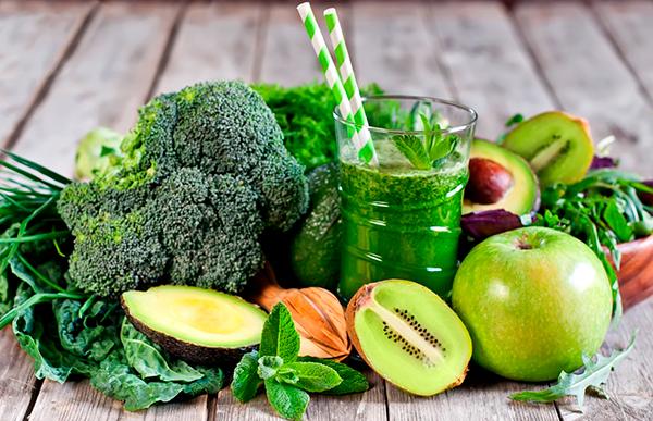 овощи и фрукты для детокс соков