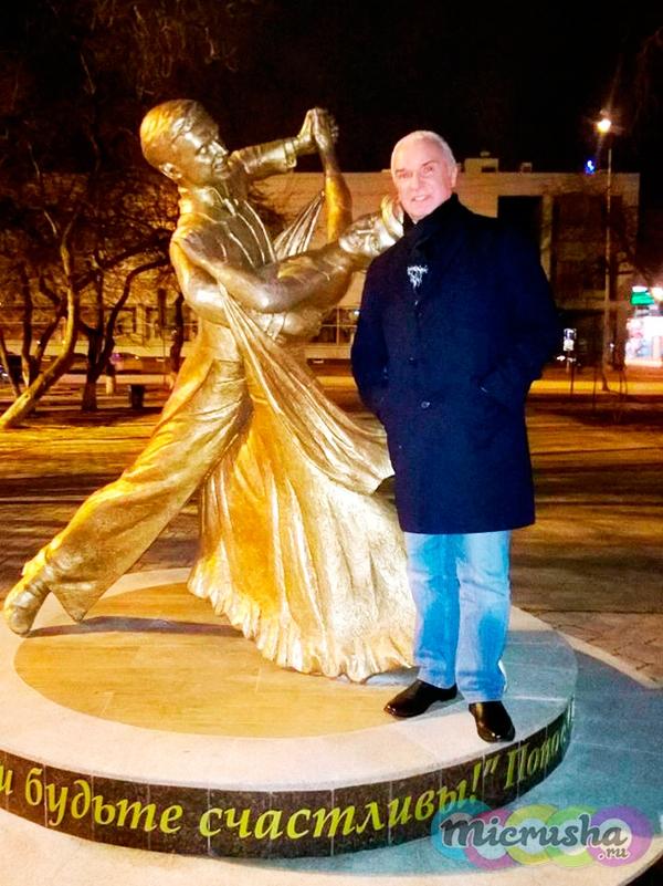скульптура Станислава Попова в Тюмени