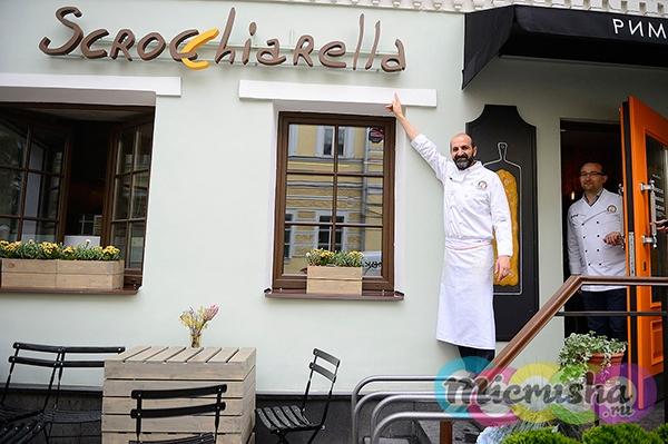 шеф-повар из Италии - Тициано Кастилло