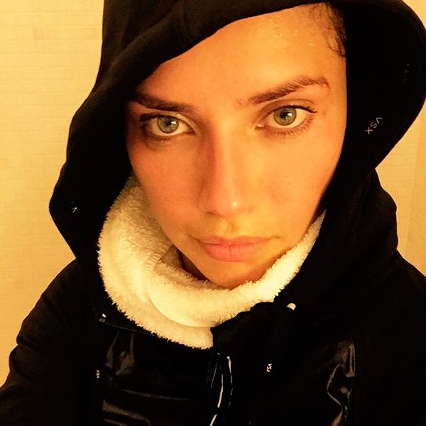модель Адриана Лима (Adriana Lima) без макияжа