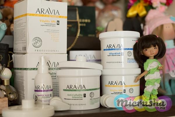 антицеллюлитная косметика ARAVIA Organic