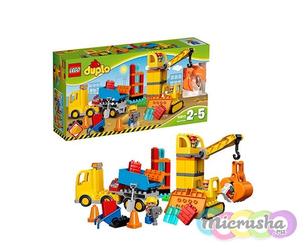 LEGO DUPLO «Большая стройплощадка»