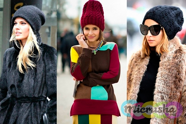 модные шапки зима 2017