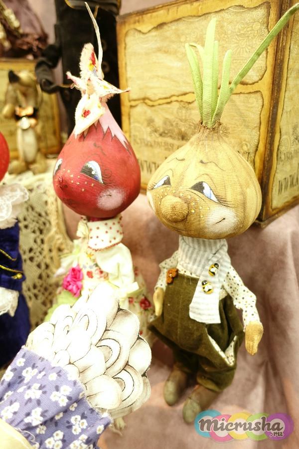 выставка кукол Чиполлино