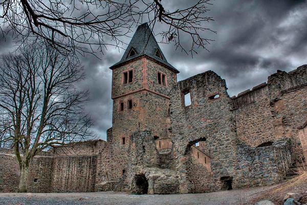 замок Франкенштейна Дармштадт, Германия