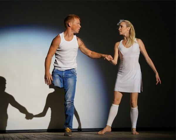 Парень без ноги в Танцах на ТНТ